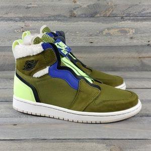 Women's Nike Air Jordan 1 High Top  Zipper